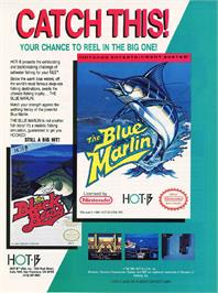 Advert for Blue Marlin on the Nintendo NES.