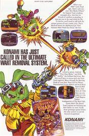 Advert for Bucky O'Hare on the Nintendo NES.