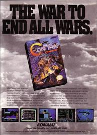 Advert for Contra Force on the Nintendo NES.