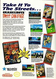 Advert for Crash 'N the Boys: Street Challenge on the Nintendo Game Boy.