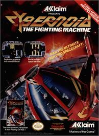 Advert for Cybernoid: The Fighting Machine on the Commodore Amiga.