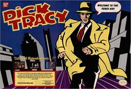 Advert for Dick Tracy on the Nintendo Game Boy.
