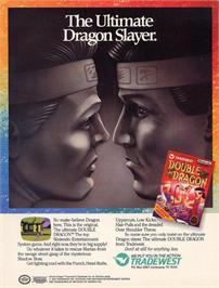 Advert for Double Dragon on the Nintendo NES.