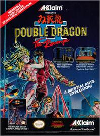 Advert for Double Dragon II - The Revenge on the MSX 2.