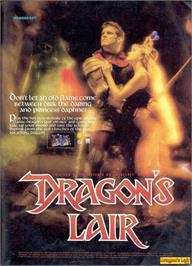 Advert for Dragon's Lair on the Nintendo NES.