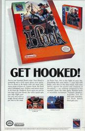 Advert for Hook on the Nintendo NES.