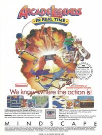 Advert for Indiana Jones and the Temple of Doom on the Nintendo NES.