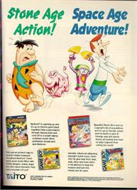 Advert for Jetsons: Cogswell's Caper on the Nintendo NES.