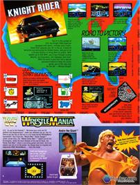 Advert for Knight Rider on the Nintendo NES.
