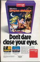Advert for Little Nemo: The Dream Master on the Nintendo NES.