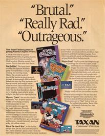 Advert for Mystery Quest on the Nintendo NES.