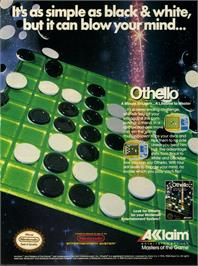Advert for Othello on the Microsoft DOS.