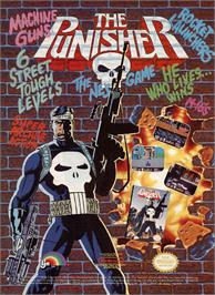 Advert for Punisher, The on the Commodore Amiga.