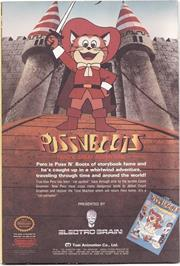 Advert for Puss N Boots: Pero's Great Adventure on the Nintendo NES.