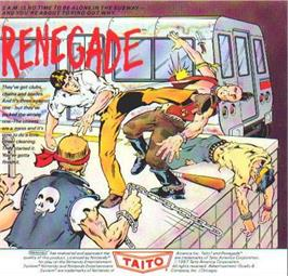 Advert for Renegade on the Nintendo NES.