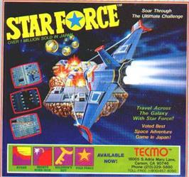 Advert for Star Force on the Nintendo NES.