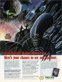 Advert for Star Soldier on the Sony PSP.