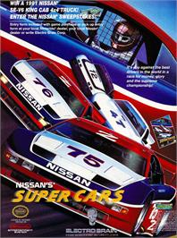 Advert for Super Cars on the Nintendo NES.