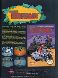 Advert for Thundercade / Twin Formation on the Nintendo NES.