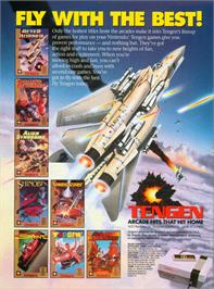 Advert for Toobin' on the Nintendo NES.