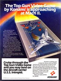 Advert for Top Gun: The Second Mission on the Nintendo NES.