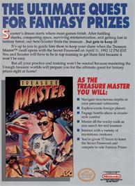 Advert for Treasure Master on the Nintendo NES.