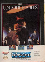 Advert for Untouchables on the Nintendo NES.