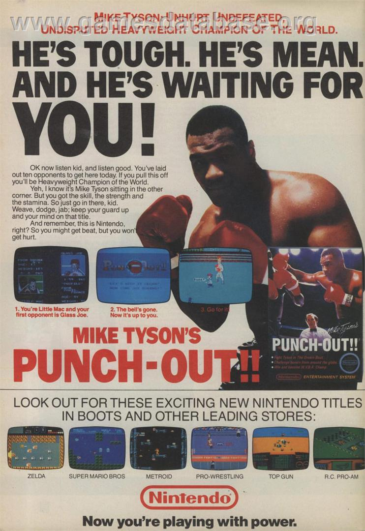 Play Mike Tyson s Punch-Out on NES