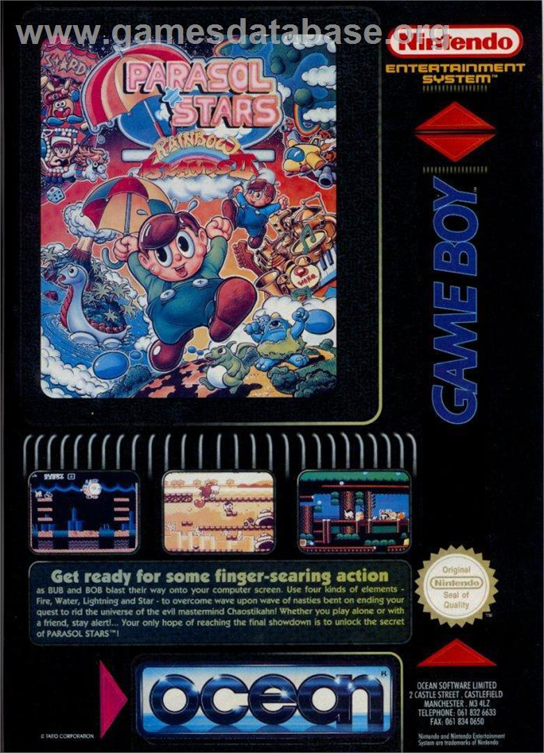 Parasol Stars: The Story of Bubble Bobble 3 - Atari ST