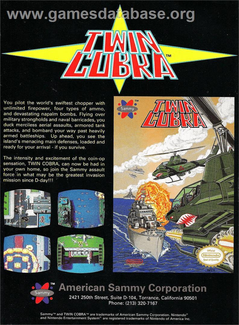Twin Cobra Arcade