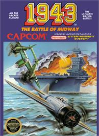 Box cover for 1943: The Battle of Midway on the Nintendo NES.
