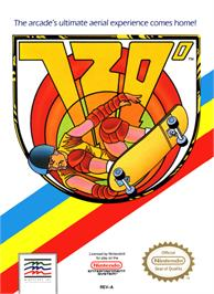 Box cover for 720 Degrees on the Nintendo NES.