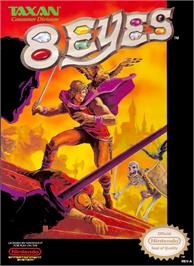 Box cover for 8 Eyes on the Nintendo NES.