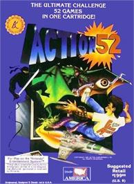 Box cover for Action 52 on the Nintendo NES.