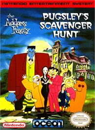 Box cover for Addams Family: Pugsley's Scavenger Hunt on the Nintendo NES.