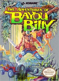 Box cover for Adventures of Bayou Billy on the Nintendo NES.