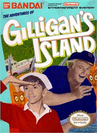 Box cover for Adventures of Gilligan's Island on the Nintendo NES.