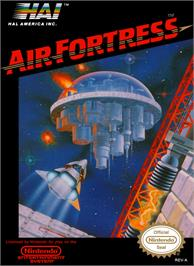 Box cover for Air Fortress on the Nintendo NES.