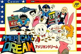 Box cover for American Dream on the Nintendo NES.