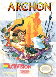 Box cover for Archon: The Light and the Dark on the Nintendo NES.
