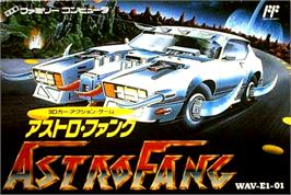 Box cover for Astro Fang: Super Machine on the Nintendo NES.