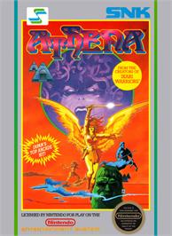 Box cover for Athena on the Nintendo NES.