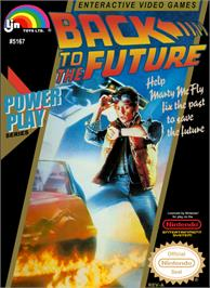 Box cover for Back to the Future on the Nintendo NES.