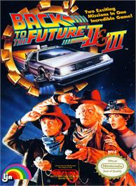 Box cover for Back to the Future 2 & 3 on the Nintendo NES.