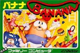 Box cover for Banana on the Nintendo NES.