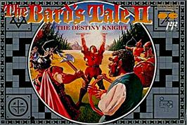 Box cover for Bard's Tale II: The Destiny Knight on the Nintendo NES.
