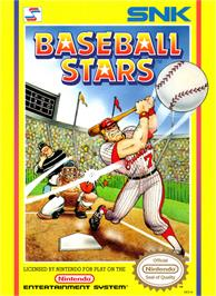Box cover for Baseball Stars on the Nintendo NES.
