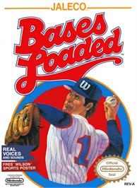 Box cover for Bases Loaded on the Nintendo NES.