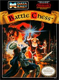 Box cover for Battle Chess on the Nintendo NES.