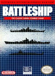 Box cover for Battleship on the Nintendo NES.